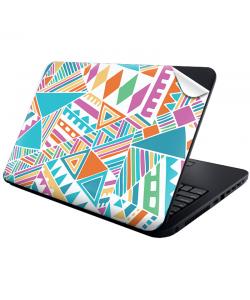 Scrambled Pattern - Laptop Generic Skin