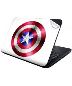 Captain America Logo - Laptop Generic Skin