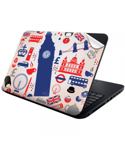 London Collage - Laptop Generic Skin