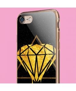 Diamond - iPhone 7 / iPhone 8 Carcasa Transparenta Silicon