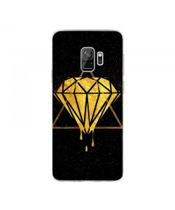 Diamond - Samsung Galaxy S9 Carcasa Transparenta Silicon