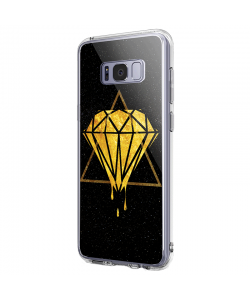 Diamond - Samsung Galaxy S8 Carcasa Premium Silicon