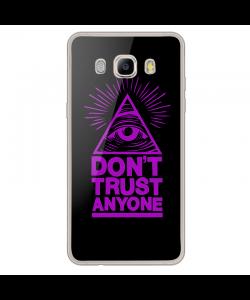 Don't Trust Anyone - Samsung Galaxy J7 Carcasa Silicon Transparent