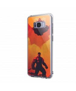 Dr. Strange & Hulk - Samsung Galaxy S8 Carcasa Transparenta Silicon