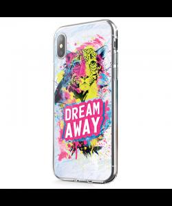 Dream Away - iPhone X Carcasa Transparenta Silicon