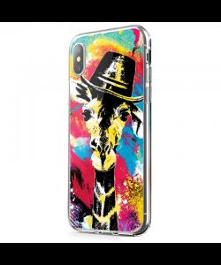 Excuse Me Sir - iPhone X Carcasa Transparenta Silicon