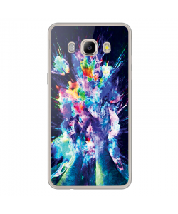 Explosive Thoughts - Samsung Galaxy J7 Carcasa Silicon Transparent