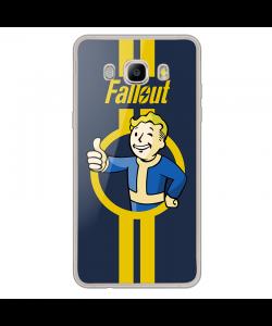 Fallout - Samsung Galaxy J7 2017 Carcasa Transparenta Silicon