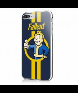Fallout - iPhone 7 Plus / iPhone 8 Plus Carcasa Transparenta SIlicon
