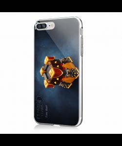 FanArt 2 - iPhone 7 Plus / iPhone 8 Plus Carcasa Transparenta Silicon