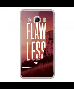 Flawless - Samsung Galaxy J7 Carcasa Silicon Transparent