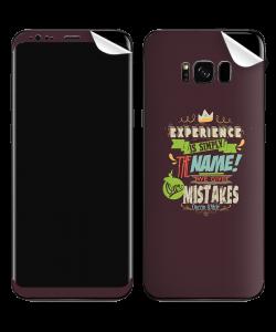 Experience - Samsung Galaxy S8 Plus Skin