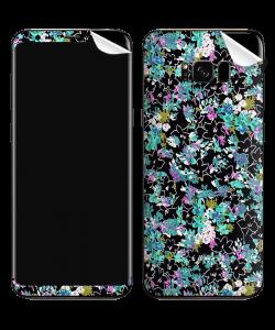 Floral Black - Samsung Galaxy S8 Plus Skin