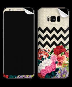 Floral Contrast - Samsung Galaxy S8 Plus Skin