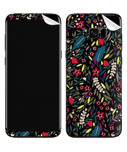 Flowers and Leaves - Samsung Galaxy S8 Plus Skin
