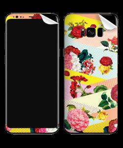 Flowers, Stripes & Dots - Samsung Galaxy S8 Plus Skin