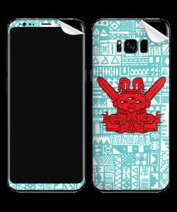 Red God - Samsung Galaxy S8 Plus Skin