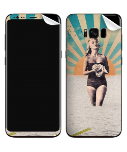 Retro Swim - Samsung Galaxy S8 Plus Skin