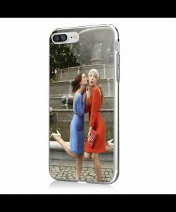 Gossip Girl - iPhone 7 Plus / iPhone 8 Plus Carcasa Transparenta Silicon