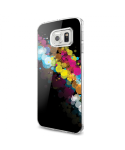 Rainbow Bubbles - Samsung Galaxy S7 Edge Carcasa Silicon