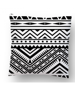 Perna decorativa - Tribal Black & White
