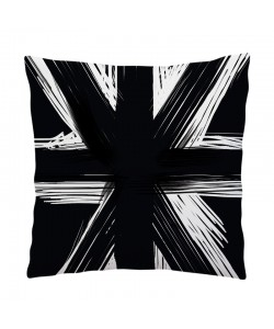 Perna decorativa - Black UK Flag