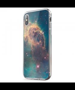 Horse's Head - iPhone X Carcasa Transparenta Silicon
