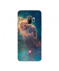 Horse's Head - Samsung Galaxy S9 Carcasa Transparenta Silicon