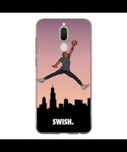 Jordan Swish - Huawei Mate 10 Lite Carcasa Transparenta Silicon