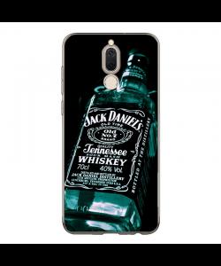 Jack Daniels Blue Bottle - Huawei Mate 10 Lite Carcasa Transparenta Silicon