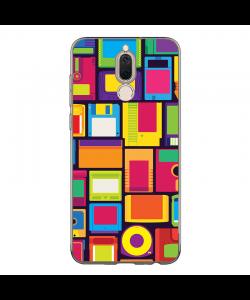 Floppy Art - Huawei Mate 10 Lite Carcasa Transparenta Silicon
