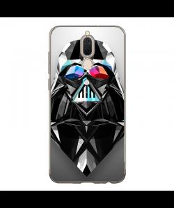 Darth Vader Geometry - Huawei Mate 10 Lite Carcasa Transparenta Silicon