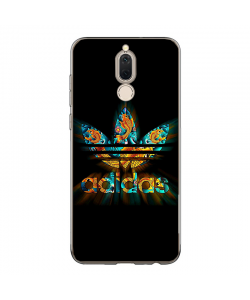 Psychedelic Adidas - Huawei Mate 10 Lite Carcasa Transparenta Silicon