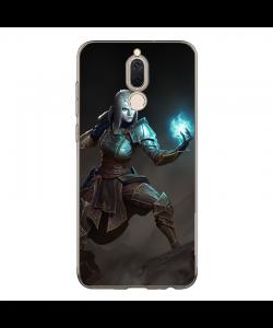 Diablo 3 Necromancer - Huawei Mate 10 Lite Carcasa Transparenta Silicon