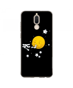 Cute Moon - Huawei Mate 10 Lite Carcasa Transparenta Silicon