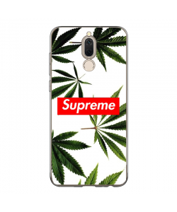 Supreme Marijuana - Huawei Mate 10 Lite Carcasa Transparenta Silicon