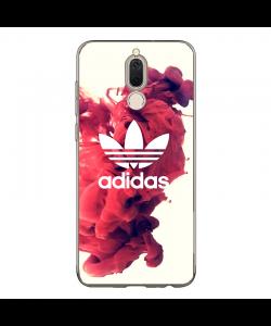 Adidas Red Smoke - Huawei Mate 10 Lite Carcasa Transparenta Silicon