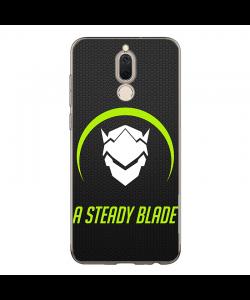 Overwatch Steady Blade - Huawei P10 Lite Carcasa Transparenta Silicon