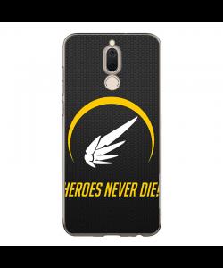 Overwatch Heroes - Huawei Mate 10 Lite Carcasa Transparenta Silicon
