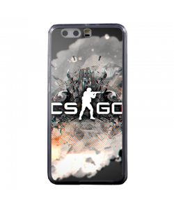Counter Strike Go - Huawei P8 Lite Carcasa Transparenta Silicon