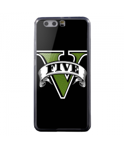 GTA V - Huawei P8 Lite Carcasa Transparenta Silicon