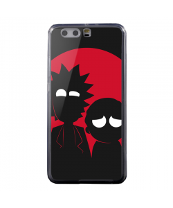 Rick and Morty - Huawei P8 Lite Carcasa Transparenta Silicon