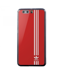 Red Adidas - Huawei P8 Lite Carcasa Transparenta Silicon
