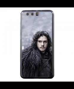 GoT Jon Snow - Huawei P8 Lite Carcasa Transparenta Silicon