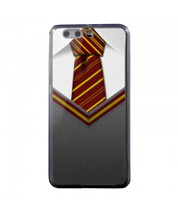 Harry Potter Tie - Huawei P8 Lite Carcasa Transparenta Silicon