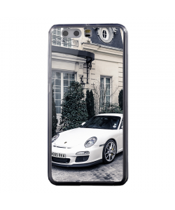 Porsche - Huawei P10 Carcasa Transparenta Silicon