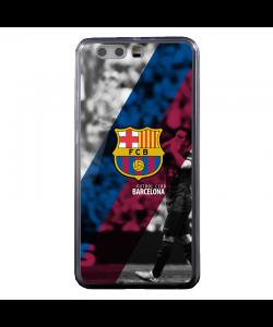 FC Barcelona 2 - Huawei P10 Plus Carcasa Transparenta Silicon