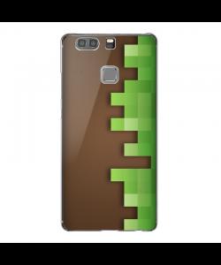 Minecraft - Huawei P9 Plus Carcasa Transparenta Silicon