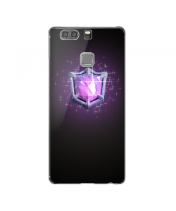 Clash Royale Legend - Huawei P9 Carcasa Transparenta Silicon