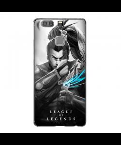 League of Legends Yasuo - Huawei P9 Plus Carcasa Transparenta Silicon